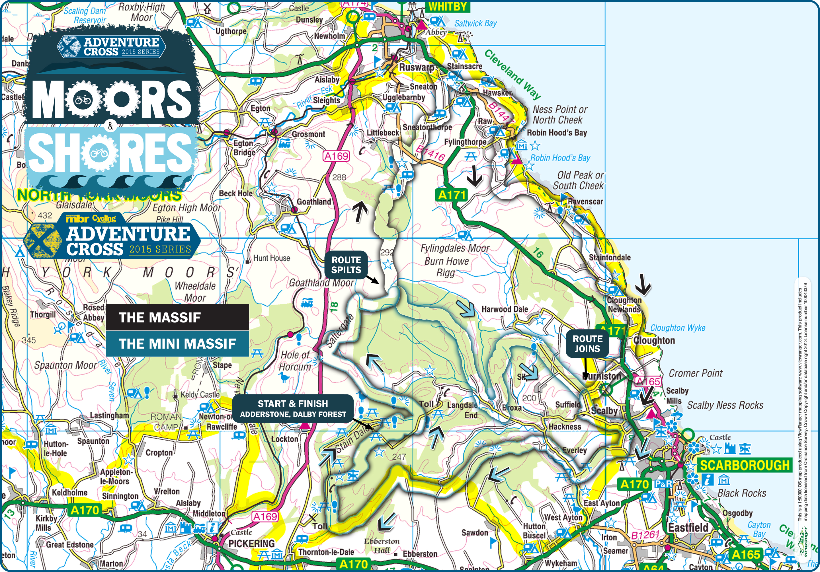 The Cycling Weekly  mbr Moors and Shores  Rather be Cycling Events